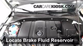 2012 Volkswagen Passat S 2.5L 5 Cyl. Sedan (4 Door) Brake Fluid Check Fluid Level