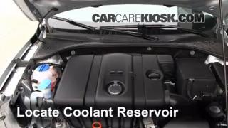 2012 Volkswagen Passat S 2.5L 5 Cyl. Sedan (4 Door) Coolant (Antifreeze) Add Coolant