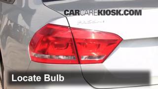 2012 Volkswagen Passat S 2.5L 5 Cyl. Sedan (4 Door) Lights Brake Light (replace bulb)
