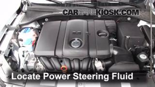 2012 Volkswagen Passat S 2.5L 5 Cyl. Sedan (4 Door) Power Steering Fluid Fix Leaks