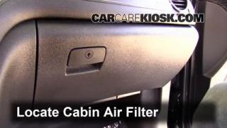 2013 Buick Enclave 3.6L V6 Air Filter (Cabin) Check