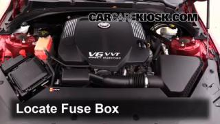 2013 Cadillac ATS Performance 3.6L V6 FlexFuel%2FFuse Engine Part 1 interior fuse box location 2013 2016 cadillac ats 2013 cadillac cadillac ats fuse box location at bayanpartner.co
