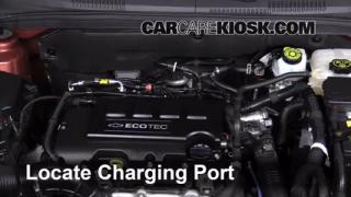 2013 Chevrolet Cruze LT 1.4L 4 Cyl. Turbo Air Conditioner Recharge Freon