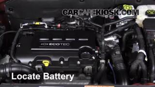 2013 Chevrolet Cruze LT 1.4L 4 Cyl. Turbo Battery Replace
