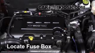 2013 Chevrolet Cruze LT 1.4L 4 Cyl. Turbo%2FFuse Engine Part 1 interior fuse box location 2011 2016 chevrolet cruze 2011 2012 chevy cruze fuse box at bakdesigns.co