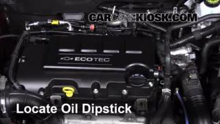 2013 Chevrolet Cruze LT 1.4L 4 Cyl. Turbo Oil Check Oil Level