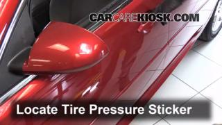 2013 Chevrolet Impala LT 3.6L V6 FlexFuel Tires & Wheels Check Tire Pressure