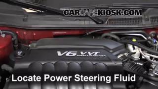 2013 Chevrolet Impala LT 3.6L V6 FlexFuel Power Steering Fluid Add Fluid