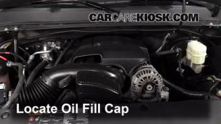2013 Chevrolet Silverado 1500 LT 5.3L V8 FlexFuel Crew Cab Pickup Oil Add Oil