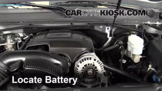 Battery Replacement: 2007-2013 Chevrolet Tahoe