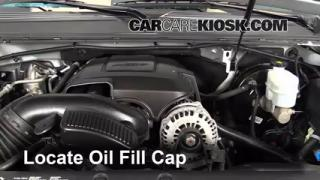 How to Add Oil Chevrolet Tahoe (2007-2013)