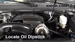 2013 Chevrolet Tahoe LT 5.3L V8 FlexFuel Oil Check Oil Level