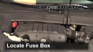 2013 Chevrolet Traverse LS 3.6L V6%2FFuse Engine Part 1 battery replacement 2013 2016 chevrolet traverse 2013 chevrolet Chevy Traverse Fuse Box Location at eliteediting.co