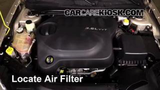 Chrysler Limited L V Flexfuel Sedan Fair Filter Engine Part on Replacing Battery On Chrysler 200