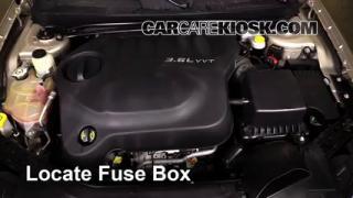 2013 Chrysler 200 Limited 3.6L V6 FlexFuel Sedan%2FFuse Engine Part 1 2011 2014 chrysler 200 interior fuse check 2013 chrysler 200 chrysler 200 fuse diagram at eliteediting.co