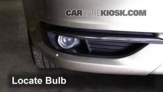 2013 Chrysler 200 Limited 3.6L V6 FlexFuel Sedan Lights Fog Light (replace bulb)