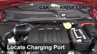 2013 Chrysler Town and Country Touring 3.6L V6 FlexFuel Air Conditioner Recharge Freon