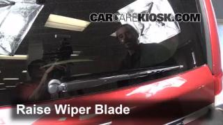 2013 Chrysler Town and Country Touring 3.6L V6 FlexFuel Windshield Wiper Blade (Rear) Replace Wiper Blade