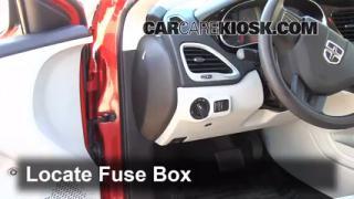 2013 Dodge Dart SXT 2.0L 4 Cyl.%2FFuse Interior Part 1 headlight change 2013 2016 dodge dart 2013 dodge dart sxt 2 0l 4 2015 Dodge Dart Fuse Box at soozxer.org