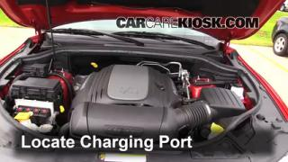 2013 Dodge Durango RT 5.7L V8 Air Conditioner Recharge Freon