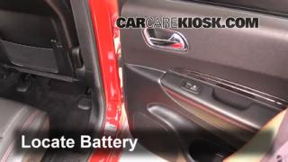2013 Dodge Durango RT 5.7L V8 Battery Replace