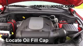 2013 Dodge Durango RT 5.7L V8 Oil Add Oil