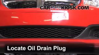 how to reset change oil on dodge caravan