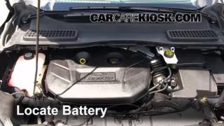 Battery Replacement: 2013-2014 Ford Escape