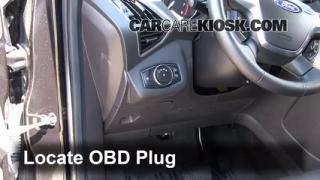 Engine Light Is On: 2013-2016 Ford Escape - What to Do