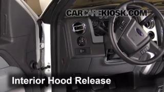 Open Hood How To 2009-2014 Ford F-150