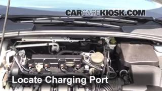 How to Add Freon in a 2012-2014 Ford Focus