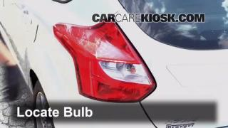 Tail Light Change 2012-2014 Ford Focus
