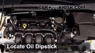 Check Oil Level 2012-2014 Ford Focus
