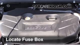 interior fuse box location 2013 2016 ford fusion 2013 ford blown fuse check 2013 2016 ford fusion