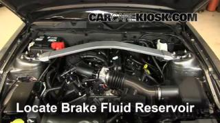 Add Brake Fluid: 2010-2014 Ford Mustang