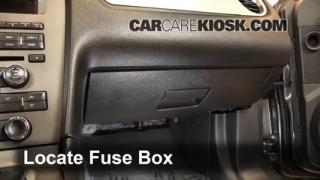2013 Ford Mustang 3.7L V6 Convertible%2FFuse Interior Part 1 interior fuse box location 2010 2014 ford mustang 2013 ford 2012 ford f250 fuse box location at gsmx.co