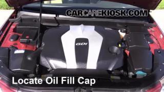 How to Add Oil Hyundai Genesis (2009-2014)
