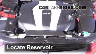 2013 Hyundai Genesis 3.8 3.8L V6 Windshield Washer Fluid Add Fluid