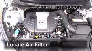 Oil Amp Filter Change Hyundai Veloster 2012 2016 2013