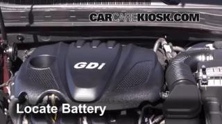 2013 Kia Optima LX 2.4L 4 Cyl. Battery Clean Battery & Terminals