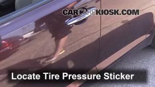 2013 Kia Optima LX 2.4L 4 Cyl. Tires & Wheels Check Tire Pressure