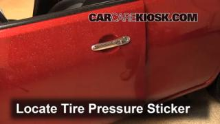 2013 Nissan Versa 1.6 SL 1.6L 4 Cyl. Tires & Wheels Check Tire Pressure