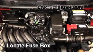 2013 Nissan Versa 1.6 SL 1.6L 4 Cyl.%2FFuse Engine Part 1 headlight change 2012 2016 nissan versa 2013 nissan versa 1 6 sl 2009 nissan versa fuse box at crackthecode.co
