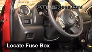 2013 Nissan Versa 1.6 SL 1.6L 4 Cyl.%2FFuse Interior Part 1 how to add oil nissan versa (2012 2016) 2013 nissan versa 1 6 sl 2009 nissan versa fuse box at mifinder.co