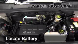 Tail Light Change 2013-2016 Buick Encore - 2014 Buick Encore 1.4L 4 Cyl. Turbo