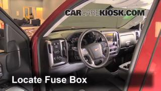 2014 Chevrolet Silverado 1500 LT 5.3L V8 FlexFuel Crew Cab Pickup%2FFuse Interior Part 1 interior fuse box location 2014 2016 chevrolet silverado 1500 2014 silverado fuse box diagram at bayanpartner.co