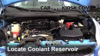 fix hose leaks 2013 2015 chevrolet spark 2014 chevrolet spark lt coolant flush how to chevrolet spark 2013 2015