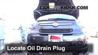 2014 Fiat 500L 1.4L 4 Cyl. Turbo%2FOil Drain Plug Part 1 parking light change 2014 2016 fiat 500l 2014 fiat 500l 1 4l 4 fiat 500l fuse box at creativeand.co