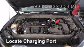 2014 Ford Fusion SE 2.5L 4 Cyl. Air Conditioner Recharge Freon
