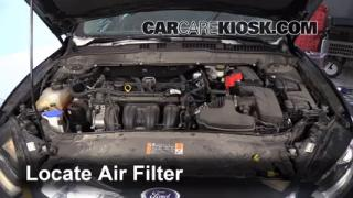 2014 Ford Fusion SE 2.5L 4 Cyl. Air Filter (Engine) Check